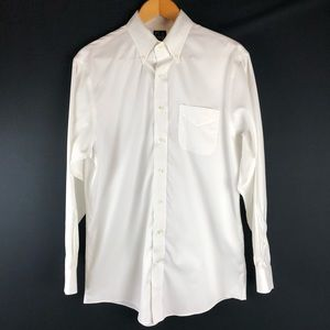 Jos. A. Bank White Traveler's Tailored Fit Shirt